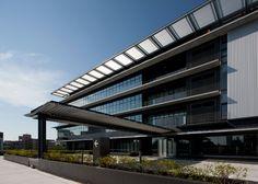風立ちぬ、爽やかなエコオフィス  愛知時計電機 新本社ビル   Nikken Sekkei + NSC|日建設計