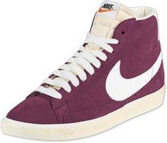 8f9471de2528d Nike Blazer Mid Vintage Schuhe team red/sail Nike Blazer Homme, Basket Nike,