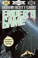 Ender's Game  Orson Scott Card  Winner of the Hugo and Nebula Awards  OIn order to develop a secure defense against a hostile alien race's next attack, government agencies breed child geniuses and train them as soldiers.