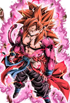 Saga Dragon Ball, Dragon Ball Image, Goku Y Vegeta, Super Saiyan 4 Goku, Vegito Y Gogeta, Super Anime, Animes Wallpapers, Anime Artwork, Japan Design