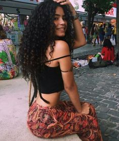 Uhair Indian Virgin Hair Kinky Curly 3 Bundles With Lace Closure Unprocessed Human Hair Curly Hair Styles, Natural Hair Styles, Long Natural Curls, Curly Girl, Tumblr Girls, Afro Hairstyles, Hair Goals, Hair Inspiration, Virgin Hair