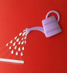 Esta série de esculturas em papel foi feita para campanha impressa das colas Pritt. A agência é a Fischer & Friends.                       ...