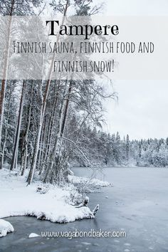 Tampere // 3 Finnish Firsts: sauna, food and snow!