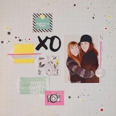 XO by sarahak at @Studio_Calico