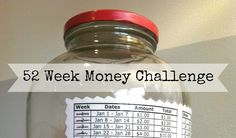 52 Week Money Saving Challenge For 2018 | DIY Cozy Home