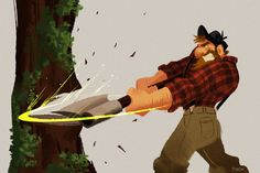 Sabrina Cintron: Lumberjack for Sketch Dailies