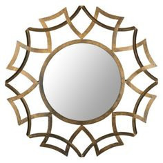 Safavieh Meadow Sunburst Mirror - Target - Liked @ www.homescapes-sd.com #homescapes #staging