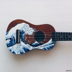 ideas music instruments drawing songs for 2019 Ukulele Art, Guitar Art, Violin, Ukulele Songs, Guitar Tattoo, Aesthetic Grunge, Aesthetic Vintage, Aesthetic Girl, Ukelele Painted