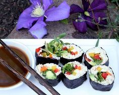 Create an even healthier version of sushi with this recipe using parsnip-rice.