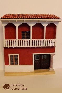casa colonial con pilar de esquina