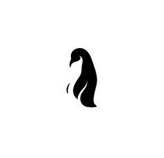 penguin logo-something for Felix Pinguin Tattoo, Logo Luxury, Penguin Logo, Logo Design, Graphic Design, Cute Penguins, My Canvas, Animal Logo, Couple Tattoos