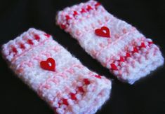Free Pattern. Manda Nicole's Crochet Patterns: Newborn Leg Warmers