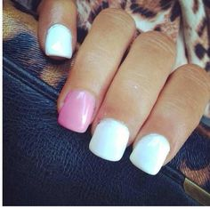 white and pink perfection