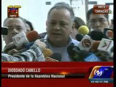 Diosdado Cabello: Es la hora de la justicia, no de la impunidad