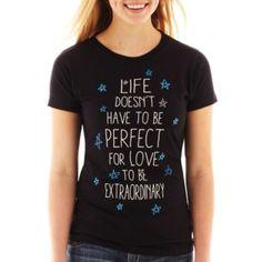 Camisa con texto de JCPenney.