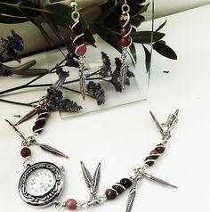 Pink Gemstone Earrings, Pink #Rhodonite #Earrings, #Pink #Gemstone #Jewellery, Boho Earrings, #Gifts for her, #Custom Jewellery, #VieBeads #Jewelry