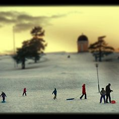 Winter- Family's day out.