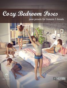 Cozy Bedroom Poses