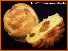 Túrós pite muffinformában Muffin Recipes, French Toast, Muffins, Food And Drink, Sweets, Snacks, Cookies, Baking, Breakfast