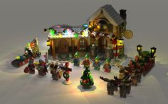 lego 10245 build by ADHO15 _ render by Nachapon | Flickr - Photo ...