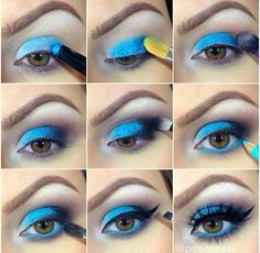 I have written many article on how to make Smokey eye makeup. As such this is not very difficult work to do. Smokey eyes makes your eyes look big and more prominent. I believe for this reason only the Smokey eye makeup has become very popular.