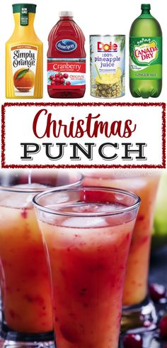 Christmas Punch Recipe (For Kids & Adults)
