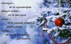Życzenia Christmas Tale, Christmas Is Coming, Christmas Wishes, Merry Christmas, Craft Gifts, Birthday Wishes, Diy And Crafts, Prayers, Birthdays
