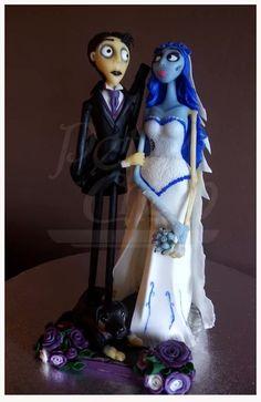 La novia cadaver. Porcelana Fría.