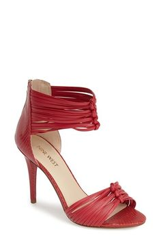 Nine West 'Dechico' Ankle Cuff Sandal (Women) available at #Nordstrom