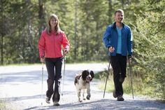 How to Use Poles for Nordic Walking - burn more calories at your usual pace and get a better walking workout.