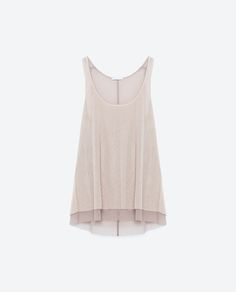 Image 8 of DOUBLE LAYER T-SHIRT from Zara