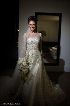Vestido de casamento da Paulinha