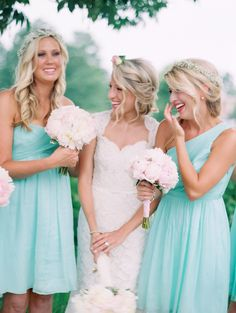 such a cute photo. love the lighting-- pretty dress color!