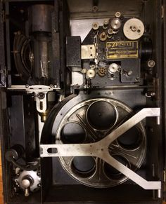 1924 35mm Silent Movie Projector. Used by the Massachusetts Department of Public Health in the 20's. Still Cool.. Still Works!