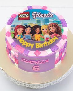48 Most Inspiring Lego Party Images Lego Friends Cake 7th