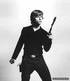 Luke Skywalker, so cool...