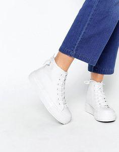 New Look   New Look High Top Platform Sneaker