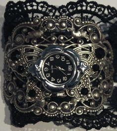 Butterfly Steampunk Watches by ~Pinkabsinthe on deviantART