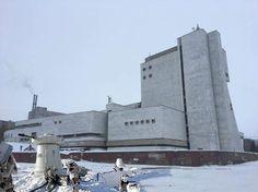 Необычные здания СССР  База повстанцев в ледяных пустошах неизвестной планеты. Чебоксары. Театр оперы и балета