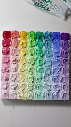 Small Canvas Paintings, Diy Canvas Art, Let's Make Art, Diy Art, Relaxing Art, Rainbow Painting, Art Therapy Activities, Colorful Drawings, Acrylic Art
