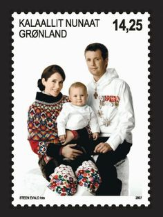 Greenland Stamps | he Greenland stamp, which is a normal stamp, shows the Crown Prince ...
