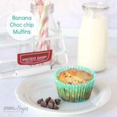 Banana and Choc Chip Muffins