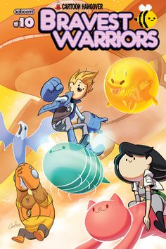 Boom! Unveils 'Bravest Warriors' #10 Covers And First Trade Paperback [Preview] - ComicsAlliance   Comic book culture, news, humor, commentary, and reviews