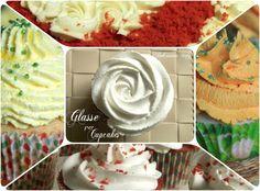 diversi tipi di glasse per i cupcakes..ad ognuno la sua ricetta ;)