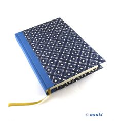 Large A5 Day Planner pinny pattern blue, large Daily Diary 2015 by nauli on Etsy https://www.etsy.com/listing/210492586/large-a5-day-planner-pinny-pattern-blue