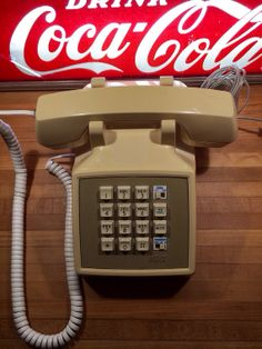 Vintage AT&T Push Button Phone 1980s