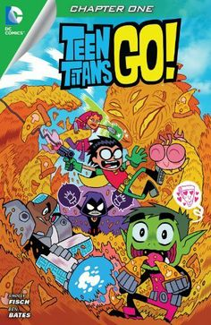 Teen Titans Go! (2014- ) #1 by Sholly Fisch, http://www.amazon.com/dp/B00GT4CX9M/ref=cm_sw_r_pi_dp_Qr3gtb0EBSJPM