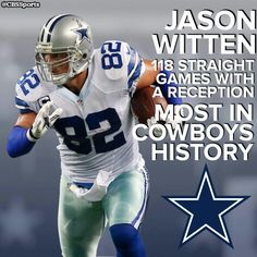 À la Michael Irvin, Jason Witten takes a lickin' and keeps on tickin ...