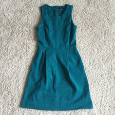 "Madewell Verse Dress in Teal Excellent pre-loved condition. Size XS. A sold out and top-rated Madewell style. ""Made of stretchy, substantial ponte, this sophisticated mini dress is a no-fuss way to go from day to night. (You might just want to pick up one in every color.)"" Madewell Dresses"