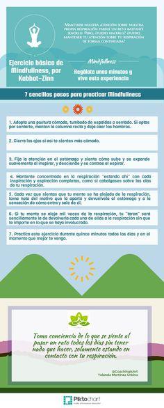Ejercicio básico en 7 sencillos pasos para practicas #mindfullness